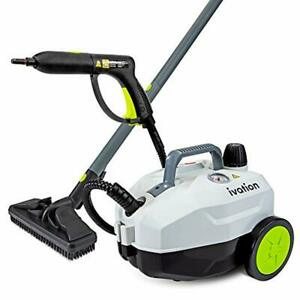Ivation 1800W Steam Cleaner with 14 Accessories, Household Cleaning System