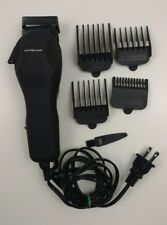 Powerblade Pet Clippers Shaver Model HC-28 Black With 4 Combs Cleaning Brush