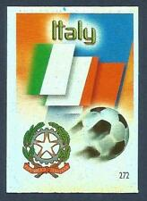 MUNDOCROM WORLD CUP 2006- #272-ITALY TEAM BADGE-SILVER FOIL