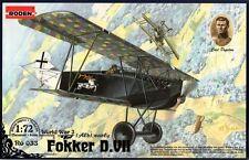 FOKKER D.VII ALB (CARL DEGELOW KAISERREICHES LUFTWAFFE ACE MKGS) 1/72 RODEN