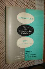1933-1961 Chevy Body Parts Book Catalog Truck Car Vette List 60 59 58 57 56