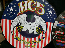 MC5 -Kick Out The Jams 1966-70 Pic Disc LP Wayne Kramer Sister Anne with Lemmy