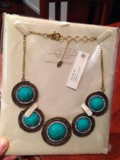 Brand New Amrita Singh $199 High Quality Necklace With  Tags In Its Box