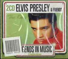 ELVIS PRESLEY & FRIENDS Legends in Music Collection 2CD NEW SEALED