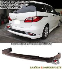 K-Style Rear Lip (ABS) Fits 11-15 Mazda 5