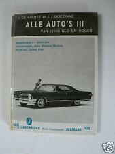 ALL CARS 3,IMPERIAL CROWN,FORD FAIRLANE,CHEVROLET CORVAIR,PEUGEOT 404,PORSCH,103