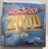 NEW Sealed Monopoly 2000 Millennium Edition Board Game Parker Brothers - Family
