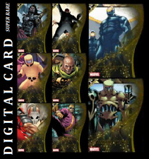 Topps Marvel Collect A.I.M. 2ND PRINTING [SET 8 SUPERARE CARDS]