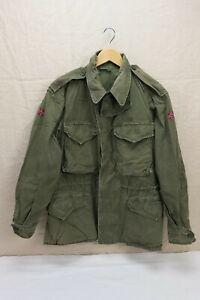 NORWEGEN TYP US ARMY WW2 Field Jacket M-1943 Feldjacke M43 Gr. 48/50 Medium #2