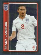 TOPPS ENGLAND 2010 WORLD CUP- #091-CHELSEA-FRANK LAMPARD-SILVER FOIL