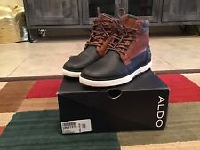 MENS ALDO THINSULATE LINING EDAOWIEL ANKLE BOOTS ~ EUC