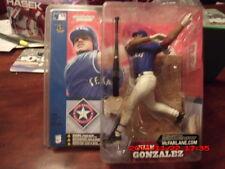 Juan Gonzalez McFarlane Sportspicks MLB SERIE 3 Blu Texas Rangers uniforme