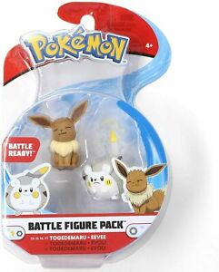 Pokemon Battle Figure Pack | Togedemaru and Eevee | Fast Shipping