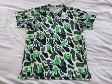 adidas Pharrel Williams Nerd Climalite Camo T Shirt Green Prime XL