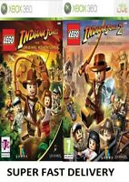 Xbox 360 LEGO Indiana Jones Xbox 360 Excellent Condition - Super Fast Delivery