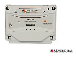 Morningstar ProStar PS-15 PWM 15A Charge Controller without Display 12/24V GEN3