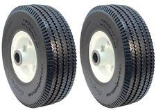2 Flat Proof Tire Wheel Assemblies for VELKE X2, 72310001, 15010, 4.10x3.50x4