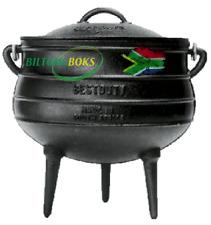Potjie Pot Size 3 by Best Duty (3 Legs) - Oil Cured