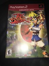 Jak and Daxter The Precursor Legacy Sony Playstation 2 PS2 Video Game Complete