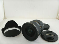 Tokina 11-16mm f2.8 AT-X PRO IF DX II per Nikon + Paraluce Hood Excellent Zoom
