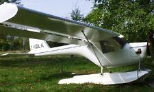 Lone Ranger Striplin USA Light Airplane Wood Model Replica Small Free Shipping