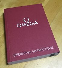 OMEGA Operating Instructions Manual Speedmaster Proplof Constellation 1/11 OEM