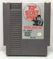 Nintendo NES Golgo 13: Top Secret Episode Game Cart *Authentic/Cleaned/Tested*