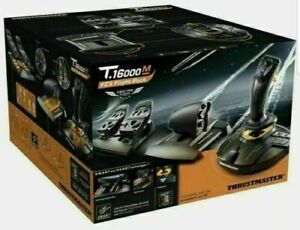 THRUSTMASTER T16000M FCS FLIGHT PACK WITH JOYSTICK, THROTTLE, TFRP RUDDER PEDALS