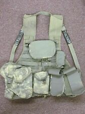 ACU Digital Load Carrying Vest w/ Pouches military