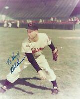 Bob Lemon 8x10 Autographed  Photo HOF Cleveland Indians