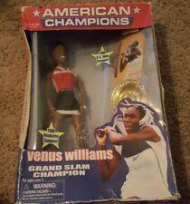 Venus Williams GrandSlam Play Along doll Barbie 2000 US Open Championship Tennis