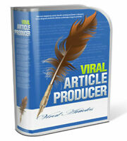Viral Article Producer Magic Software for Online Success (Windows) INSTANT SEND