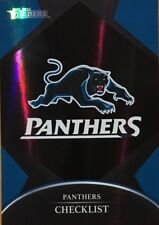 2016 NRL TRADERS PENRITH PANTHERS CHECKLIST LOGO PARALLEL CARD PO101 FREE POST