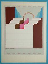 Jens LAUSEN (1937) Sérigraphie II Originale 1970 Signée 76x56cm Pop Art Vintage
