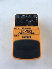 Behringer CO600 Chorus Orchestra Stereo Analog Rare Guitar Effect Pedal