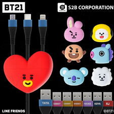 BTS BT21 Official Authentic Goods Muticharge 3in 1 Cable By S2B Corporation