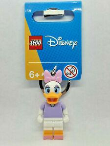 Brand New Lego - Daisy Duck Keyring (2021) - Disney Mickey And Friends - 854112