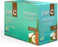 Ener-C 1000 mg Vitamin C - Pineapple Coconut - (30 Count)