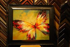 Butterfly - Johnson Oil Painting