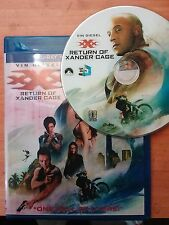 xXx Return of Xander Cage full HD, 3D bluray disc with case