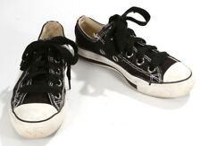 CONVERSE All Star Low Tops Shoes Sneakers Ladies Girls Women's Size 6 Black