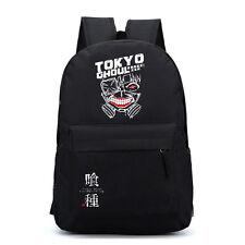 Anime Tokyo Ghoul Kaneki Ken Backpack Shoulder Bag Laptop Rucksack Sport Satchel