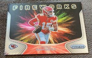 Patrick Mahomes 2020 Panini card lot (3 cards) Mosaic Prizm NFL Chiefs
