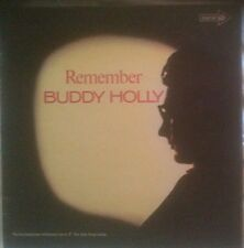 BUDDY HOLLY Remember LP CORAL 1971