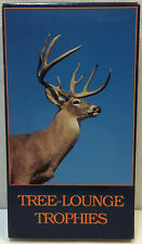 Tree Lounge Trophies •VHS• Bob and Margaret Hice • Gun & Bow Tree Stand Hunting