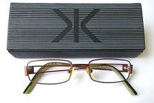 Jai Kudo Designer Optical Eyeglasses FRAMES ONLY TA1462 in Bronze 50 18 140 CASE