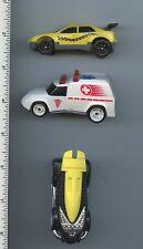 McDonald's Hot Wheels Lot of 3 1994 Taxi Ambulance Black Car loose