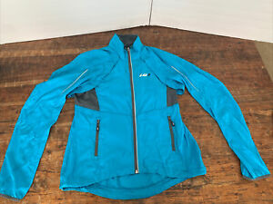 Garneau Cabriolet Cycling Jacket / Vest women's Blue Size XL New with tags.