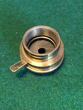 Vintage Brass Microscope Objective Lens Adjustable Iris Accessory