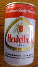Heidelberg Exceptional Quality Bottom Opened Empty Beer Can  Free shipping